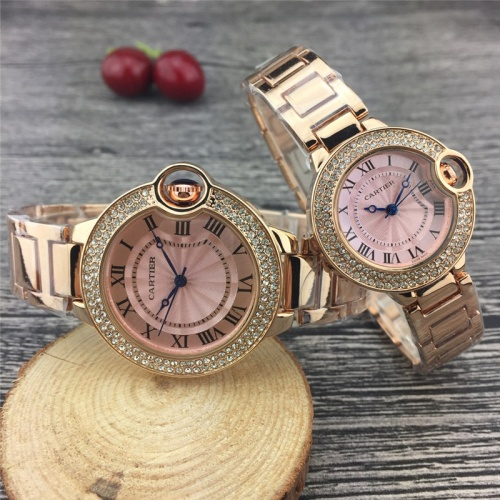 Cartier Couple Watches #787367