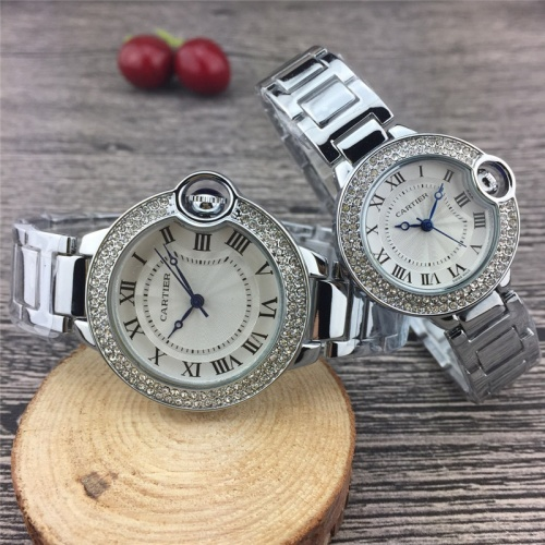 Cartier Couple Watches #787370