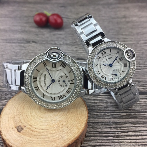 Cartier Couple Watches #787371