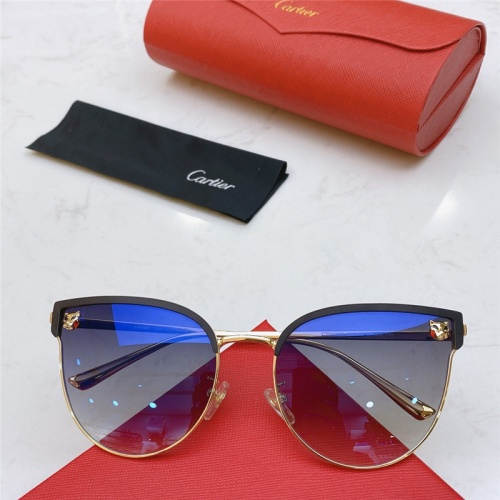Cartier AAA Quality Sunglasses #787517