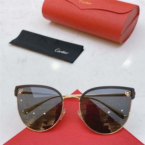 Cartier AAA Quality Sunglasses #787518
