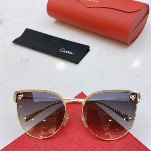 Cartier AAA Quality Sunglasses #787519