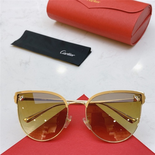 Cartier AAA Quality Sunglasses #787522