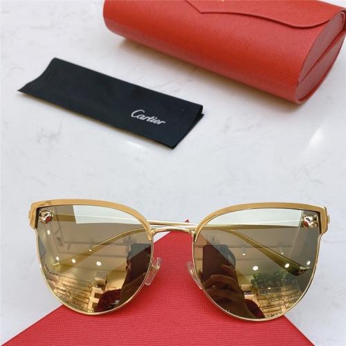 Cartier AAA Quality Sunglasses #787523