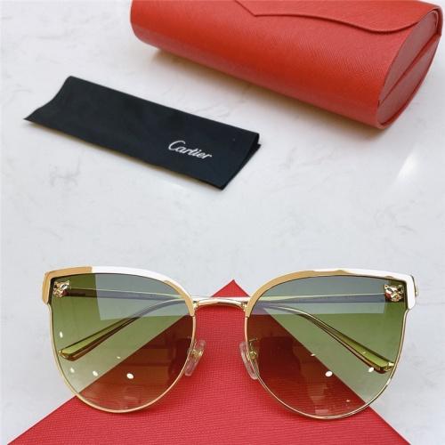 Cartier AAA Quality Sunglasses #787524