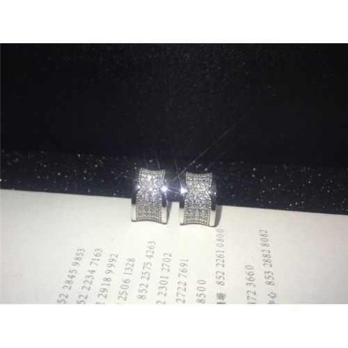 Bvlgari Earrings #787562 $28.13 USD, Wholesale Replica Bvlgari Earrings