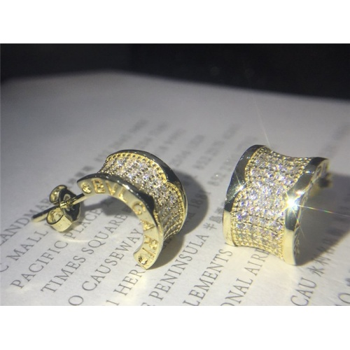 Bvlgari Earrings #787564 $28.13 USD, Wholesale Replica Bvlgari Earrings
