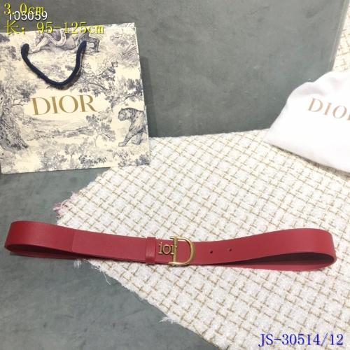 Christian Dior AAA Quality Belts #787596