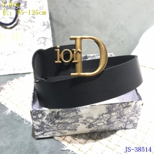 Replica Christian Dior AAA Quality Belts #787618 $54.32 USD for Wholesale