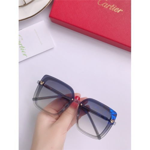 Cartier AAA Quality Sunglasses #787792