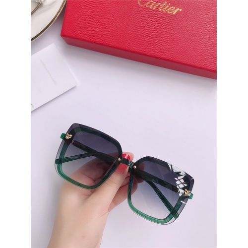 Cartier AAA Quality Sunglasses #787796
