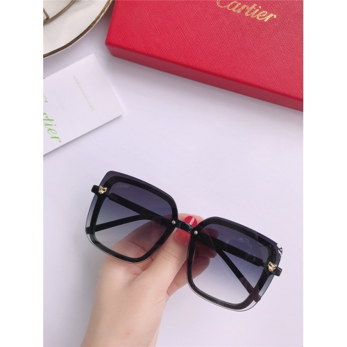 Cartier AAA Quality Sunglasses #787797