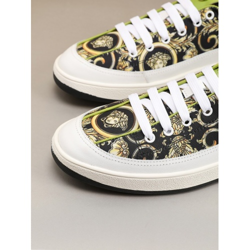 Replica Versace Casual Shoes For Men #788902 $73.72 USD for Wholesale