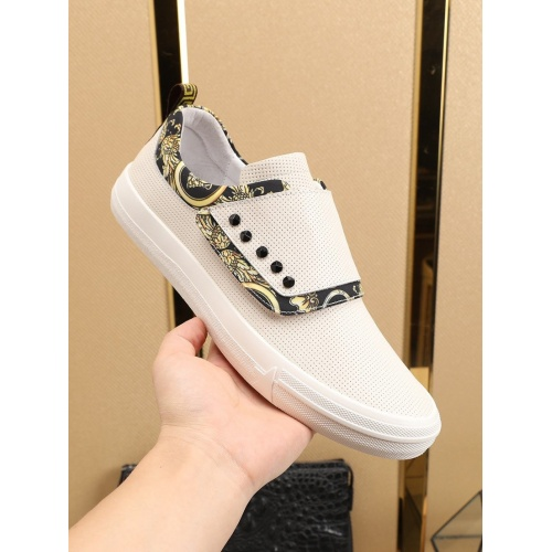 Replica Versace Casual Shoes For Men #788903 $73.72 USD for Wholesale