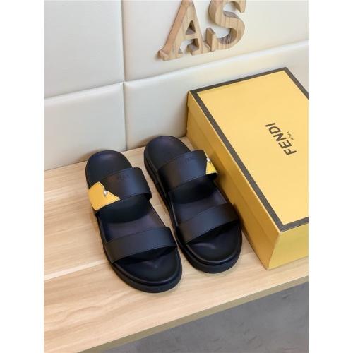 Fendi Slippers For Men #789058