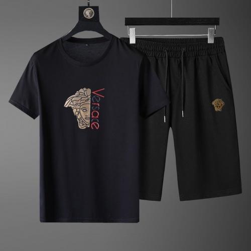 Versace Tracksuits Short Sleeved O-Neck For Men #789103