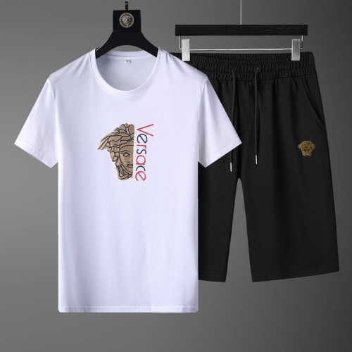 Versace Tracksuits Short Sleeved O-Neck For Men #789104