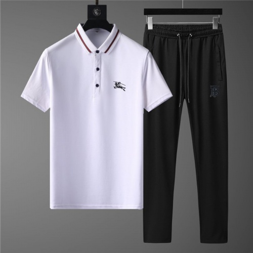 Burberry Tracksuits Short Sleeved Polo For Men #789120