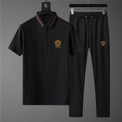 Versace Tracksuits Short Sleeved Polo For Men #789121