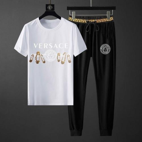 Versace Tracksuits Short Sleeved O-Neck For Men #789135