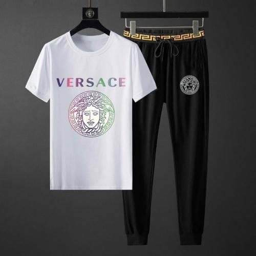 Versace Tracksuits Short Sleeved O-Neck For Men #789137