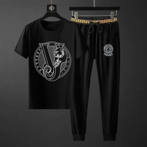 Versace Tracksuits Short Sleeved O-Neck For Men #789138