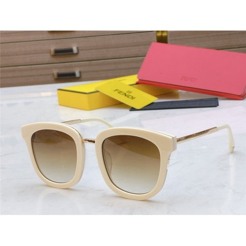 Fendi AAA Quality Sunglasses #789223