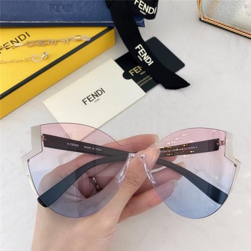 Fendi AAA Quality Sunglasses #789238