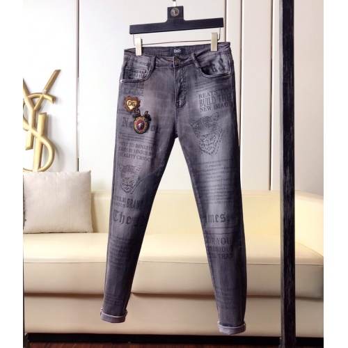 Dolce & Gabbana D&G Jeans Trousers For Men #789258