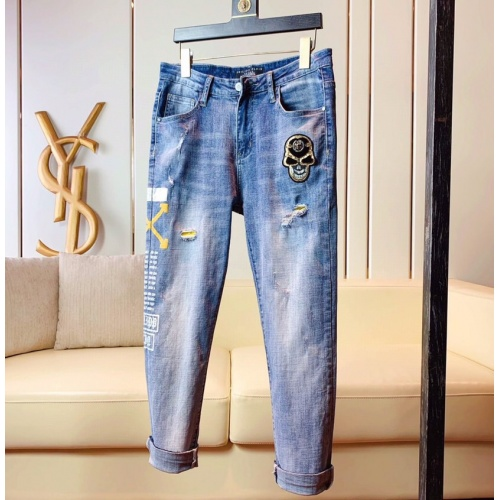 Philipp Plein PP Jeans Trousers For Men #789273