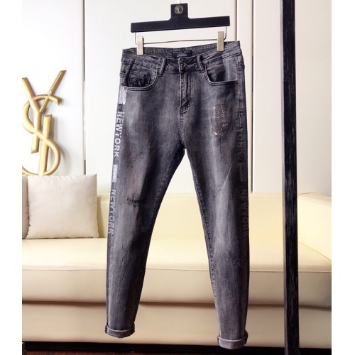 Philipp Plein PP Jeans Trousers For Men #789277