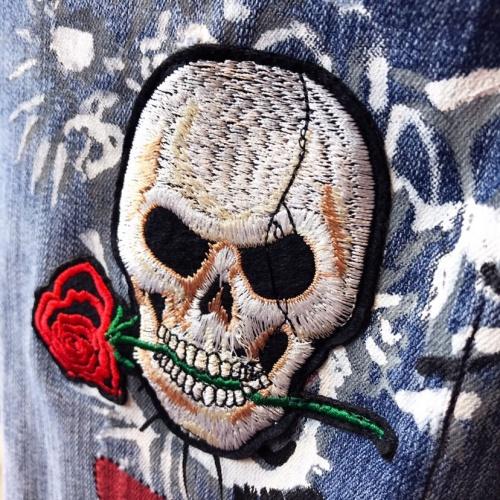 Replica Philipp Plein PP Jeans Trousers For Men #789280 $46.56 USD for Wholesale