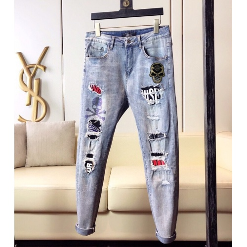 Philipp Plein PP Jeans Trousers For Men #789282
