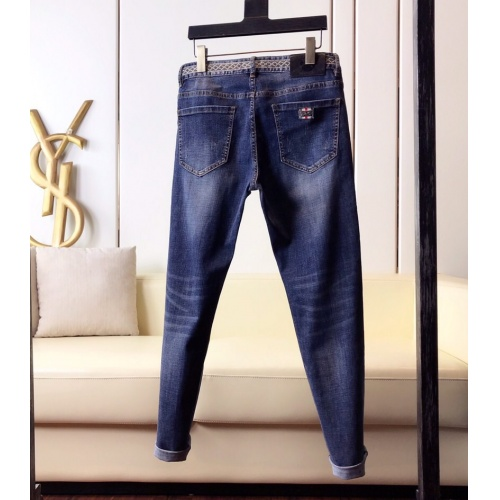 Replica Burberry Jeans Trousers For Men #789287 $46.56 USD for Wholesale