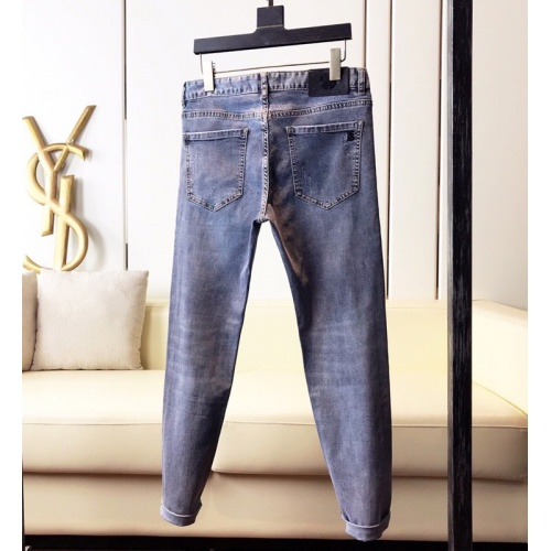 Replica Burberry Jeans Trousers For Men #789288 $46.56 USD for Wholesale
