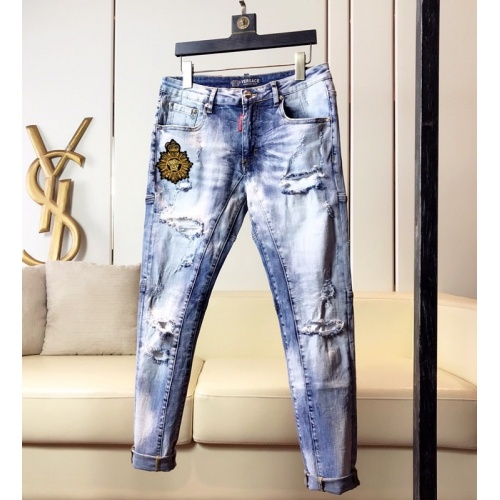 Versace Jeans Trousers For Men #789289