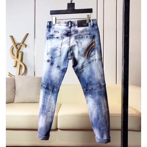 Replica Versace Jeans Trousers For Men #789289 $46.56 USD for Wholesale