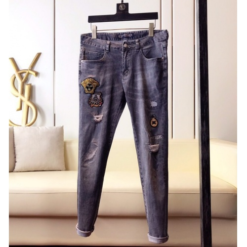 Versace Jeans Trousers For Men #789290 $46.56, Wholesale Replica Versace Jeans