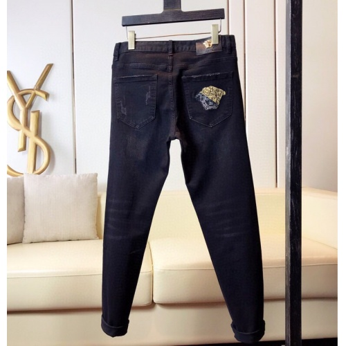 Replica Versace Jeans Trousers For Men #789291 $46.56 USD for Wholesale