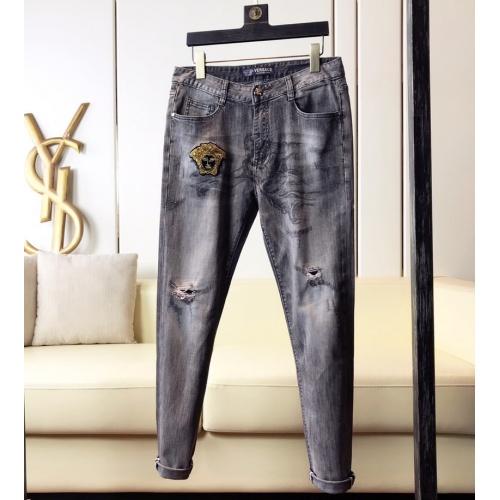 Versace Jeans Trousers For Men #789293 $46.56, Wholesale Replica Versace Jeans