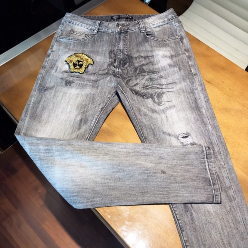 Replica Versace Jeans Trousers For Men #789293 $46.56 USD for Wholesale