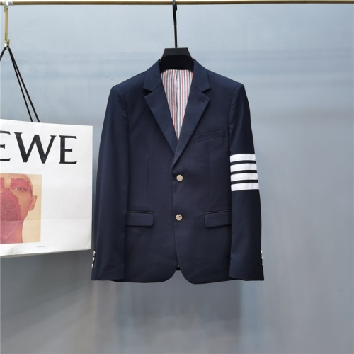 Thom Browne Jackets Long Sleeved Polo For Men #789307