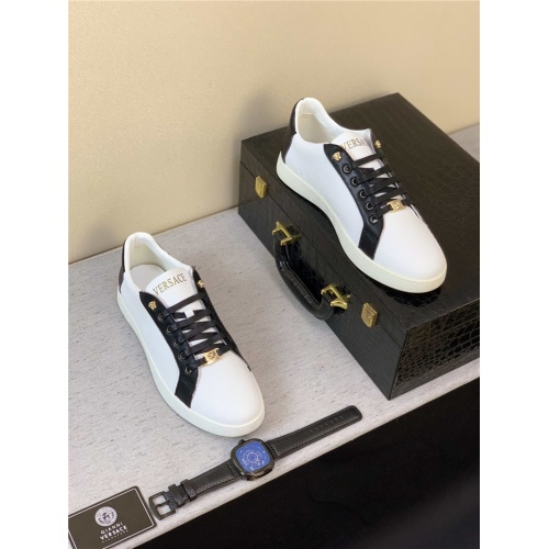 Replica Versace Casual Shoes For Men #789316 $69.84 USD for Wholesale