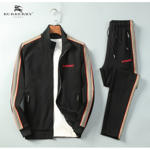 Burberry Tracksuits Long Sleeved Zipper For Men #789385
