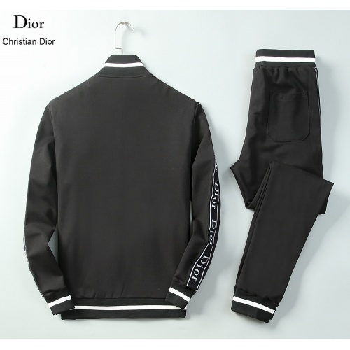 Replica Christian Dior Tracksuits Long Sleeved Zipper For Men #789392 $95.06 USD for Wholesale