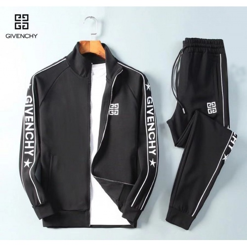 Givenchy Tracksuits Long Sleeved Zipper For Men #789427