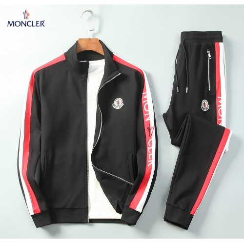 Moncler Tracksuits Long Sleeved Zipper For Men #789428