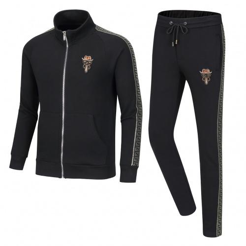 Fendi Tracksuits Long Sleeved Zipper For Men #789434