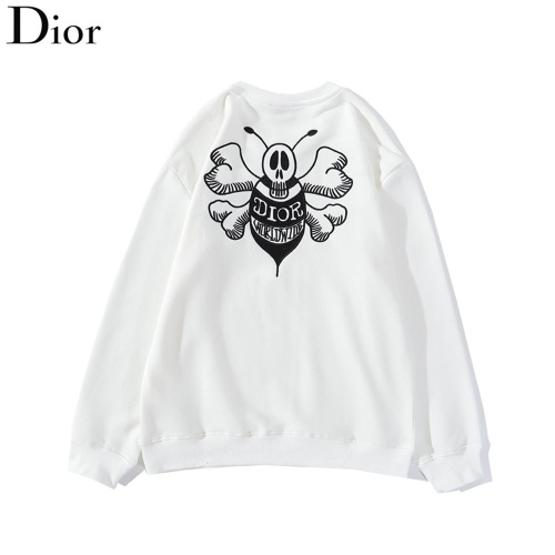 Christian Dior Hoodies Long Sleeved O-Neck For Men #789455 $37.83, Wholesale Replica Christian Dior Hoodies