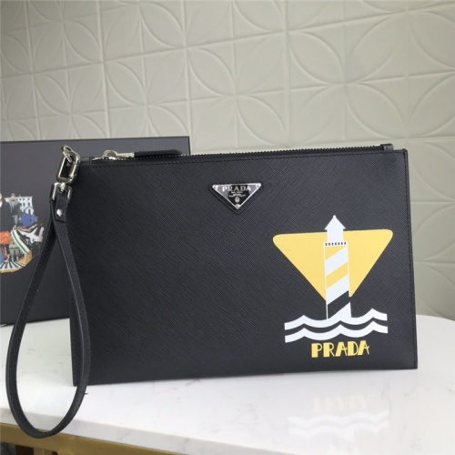 Prada AAA Man Wallets #789466